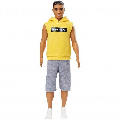"""Barbie Ken Fashionistas Doll Wearing """"New York"""" Hoodie"""
