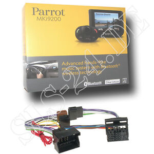 Parrot-MKI9200-Freisprechanlage-VW-Golf-V-VI-Polo-Passat-EOS-Touran-KFZ-Adapter