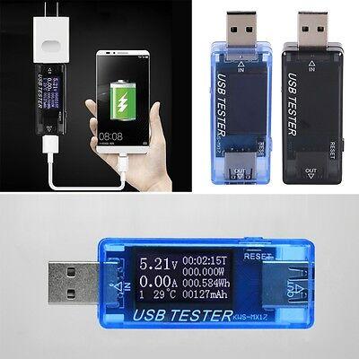 Digital USB Tester LED Charging Doctor Voltage Current Meter Power Detector New