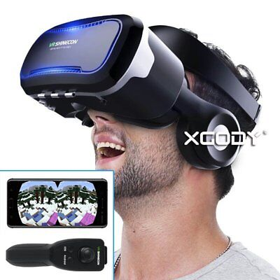 3D Vr Virtual Reality Glasses For Iphone   Android With Gamepad For Smartphone