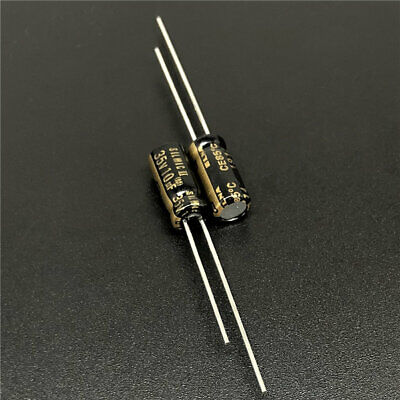1050pcs 10uf 35v Japan Elna Rfs Silmic Ii 5x11mm 35v10uf Hifi Audio Capacitor