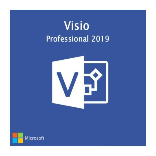 INSTANT Microsoft VISIO 2019 Professional PRO 64bit Activation Product Key 1 PC