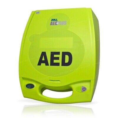 Zoll Aed Plus Excellent Cond Can Program To 1 Of 14 Different Languages.