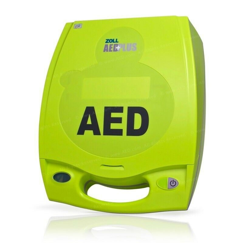 Zoll AED Plus Excellent Cond 3-Yr. Warranty, New Batteries, 2025 CPR D Pads