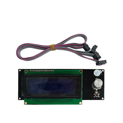 Diy 3d Printer Reprap Ramps1.4 Mks Lcd 2004ml Controller Display Accessories