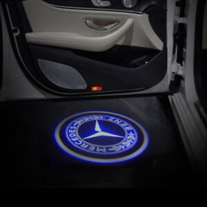 Mercedes S550 projector ghost shadow light door