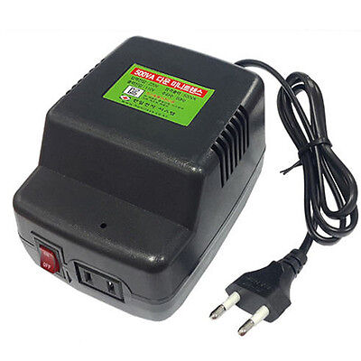 220V to 110V Step Down Voltage Converter Transformer Max Power 500VA/500W