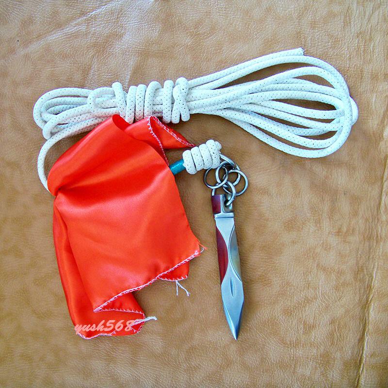 1PCS Wushu Kung Fu Training Rope Dart Shaolin Rope Darts
