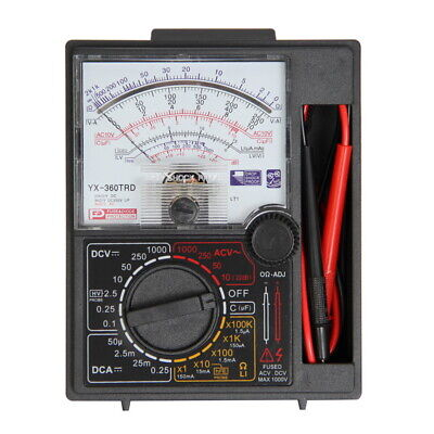 -360trd Analogue Meter Multimeter Multitester Diode Protection Dc Ac