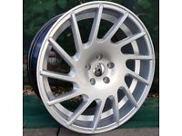 "19"" J03 Alloys and tyres for 5x112 VW Audi Seat Etc"