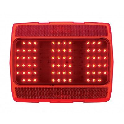 1964-66 Ford Mustang Tail Light w/LED-68 Red New Dii