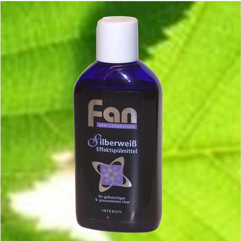 Fan Silberweiss Haarspülung Blauspülung gegen Gelbstich 100ml °WS