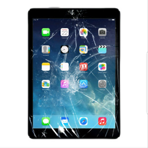 iPad 3 Screen Glass Cracked Replacement $49 + Warranty  ☆☆☆☆☆