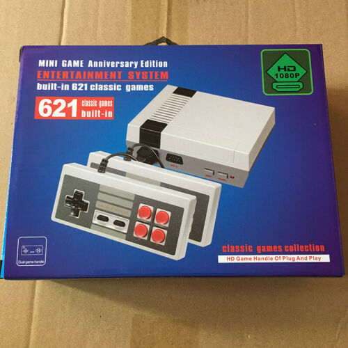 600 Games in 1 Classic Mini Game Console for NES Retro TV HDMI Gamepads Nintendo