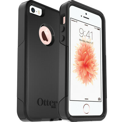 NEW! OtterBox Commuter Series Case for Apple iPhone SE, 5S, 5 - Black