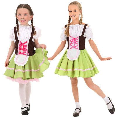 Gretchen Swiss Alps Girl Bavarian Beer Garden Dress Up Halloween Child Costume - Beer Garden Girl