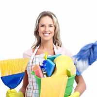 Hiring full time house cleaners starts right away $15/hr +gas