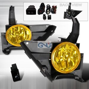 Cr-v 2005 2006 crv Honda CR V Yellow Fog Light