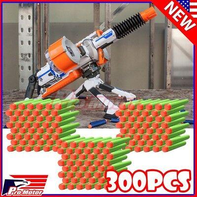 Green 7.3cm 300PCS Refill Bullet Darts for Nerf toy Gun N-strike Elite Series P1