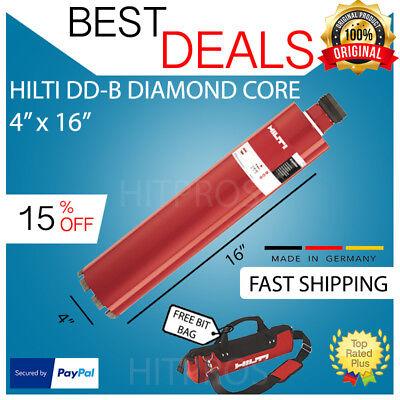 Hilti Dd-b 4 X 16 Hcs Diamond Core Bit New Free 12v Driver Fast Ship