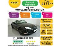 2012 BLACK MAZDA MX-5 2.0i KURO EDITION 2DR ROADSTER CAR FINANCE FR £177 PCM
