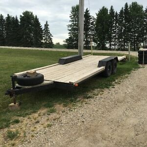 20 foot Flatbed Utility Trailer