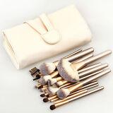Pro 24 Pcs Makeup Brushes Cosmetic Tool Kit Eyeshadow Powder Brush Set+ Case