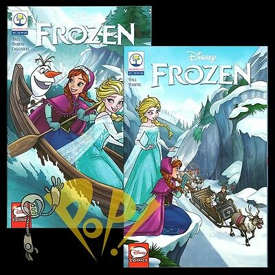 FROZEN #1 & #2 Comic JOE BOOKS Disney NM 2016!