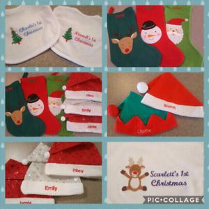 02b94849b20 Personalised Baby Christmas Sets