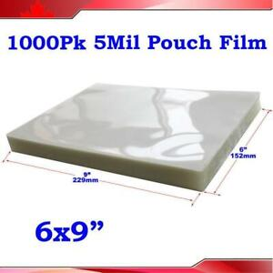 Large Size UV Clear Laminating Pouch Film for Thermal Laminator