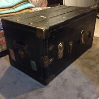 Rare Antique Travel Trunk
