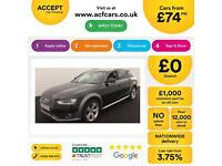 Black AUDI A4 AVANT ESTATE 1.8 2.0 TDI Diesel SPORT S LINE FROM £74 PER WEEK!