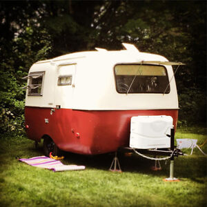 13' Vintage Boler Trailer with Restored Interior!