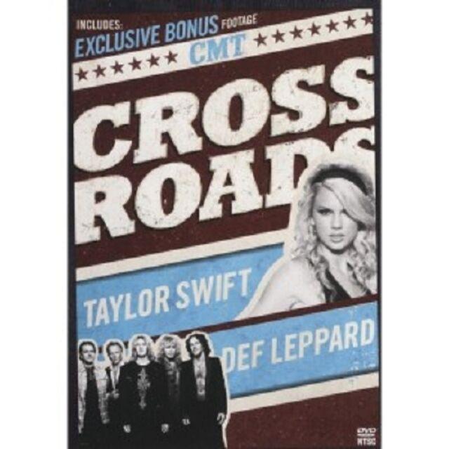 TAYLOR SWIFT - CMT-CROSSROADS  DVD  INTERNATIONAL POP  NEU
