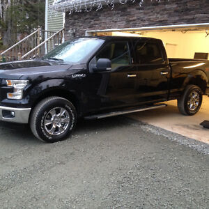 "2015 Ford F-150 OEM 18"" wheels and Blizzak winter tires with tps"