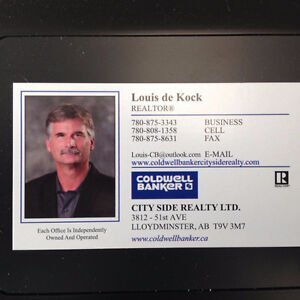 Buying or Selling . Call Louis at Coldwell Banker 780-808-1358