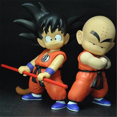 20CM Dragon Ball Z DBZ Son Goku & Krillin Action Figures Budo Suit Toy in Box - Dragon Ball Z Suit