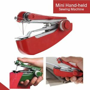 Portable Mini Hand Held Sewing Machine Small Compact Child Easy Stitcher