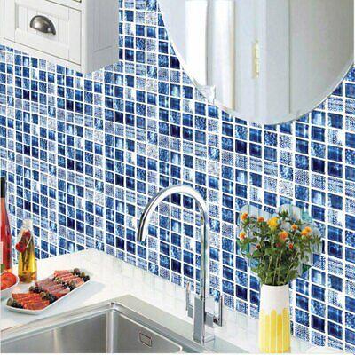 Home Bathroom Kitchen Brick 3D Wall Decor Stickers Tile Art Backsplash 6 PCS - Kitchen Home Decor