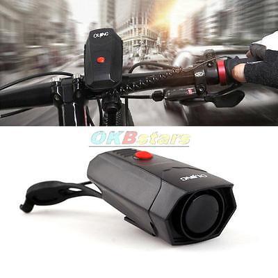 Bicycle Cycling Horn Air Alarm Electronic Bike Handlebar Ultra Loud Ring Bell #K