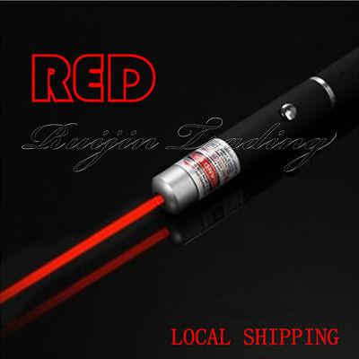 UK Red Laser Pointer Pen Beam Light 1mw Professional Lazer High Power