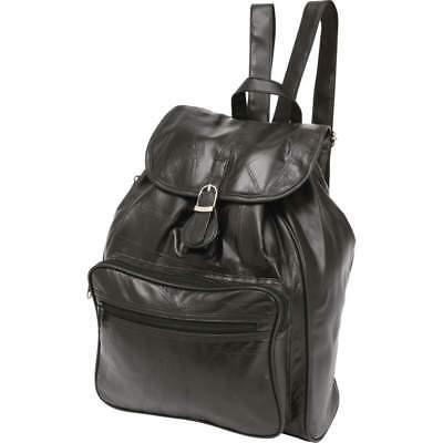 Embassy™ Italian Stone™ Design Genuine Lambskin Leather Backpack