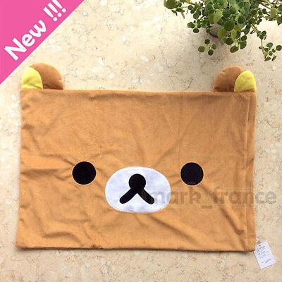 Rilakkuma Relax Bear San-X Cute Plush Brown Pillow Case 63*43cm Top Sale