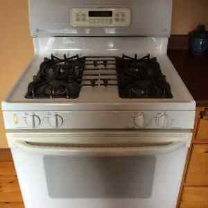 Fridge and Gas Range, Dishwasher and Washer/Dryer