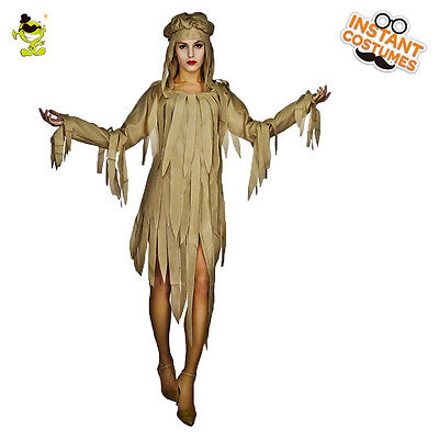 Mummy Halloween Costumes For Adults (New Adult's Women Mummy Zombie Party Cosplay Ghost Fancy Costumes For Halloween)