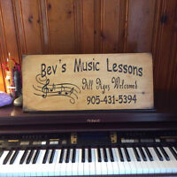 Piano lessons in person or by FaceTime/Skype