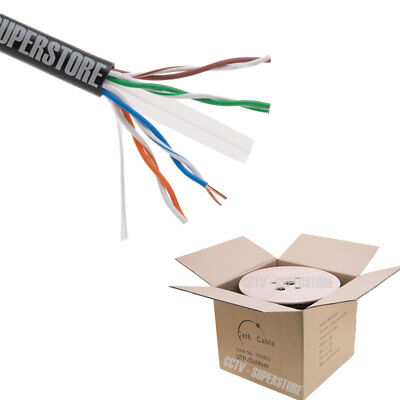 500ft Cat6 LAN Network Ethernet Cable Wire Cat-6 Waterproof Outdoor (Outdoor Network Cable)