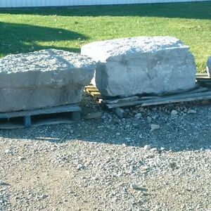 armour stone and landscape rocks Stratford Kitchener Area image 1