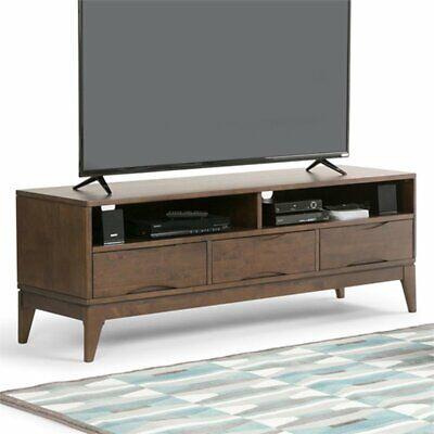 Simpli Home 3AXCHRP-11 Harper Solid Hardwood Mid-Century TV