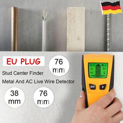 3 in1 Stud Finder Metalldetektor Leitungssucher Kabelfinder Metall Wand Scanner